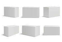 White Boxes Templates. Blank M...