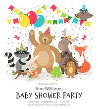 Happy Birthday Animals Poster....