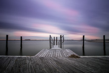 An Empty Peaceful Dock Within ...