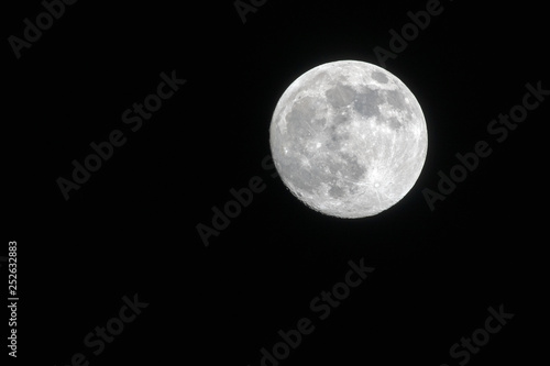 Poster Pleine lune 月夜