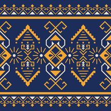Ethnic Seamless Pattern. Triba...