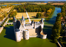 Aerial View Of Chateau De Sull...