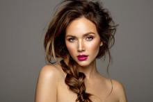 Beauty Portrait Of Female Mode...