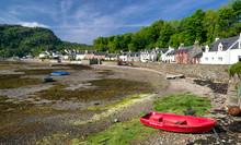 Village Plockton, Scotland