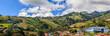 Rural landscape of Cartago Province, Costa Rica