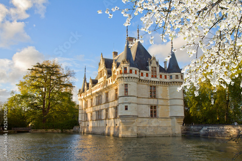 Fotografie, Obraz  Azay-le-Rideau castle, France