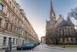 Martin-Luther-Platz und Kirche in der Dresdner Neustadt