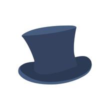 Gentleman's Hat. Hat. Vector Illustration. EPS 10.