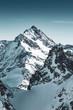 canvas print picture - Schweizer Alpen