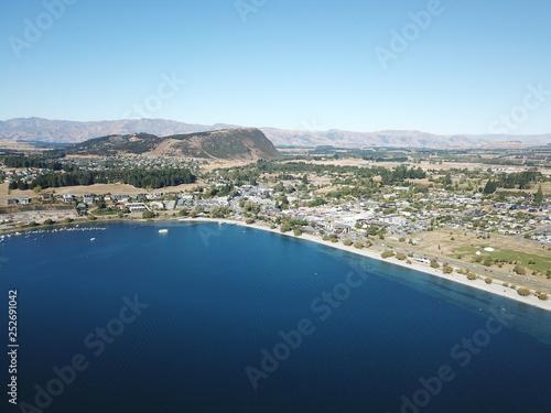 Photo  Aerial view Wanaka, New Zealand