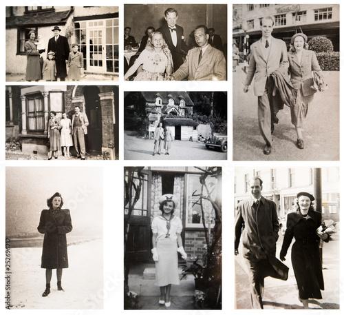 1940-1950s Canvas Print