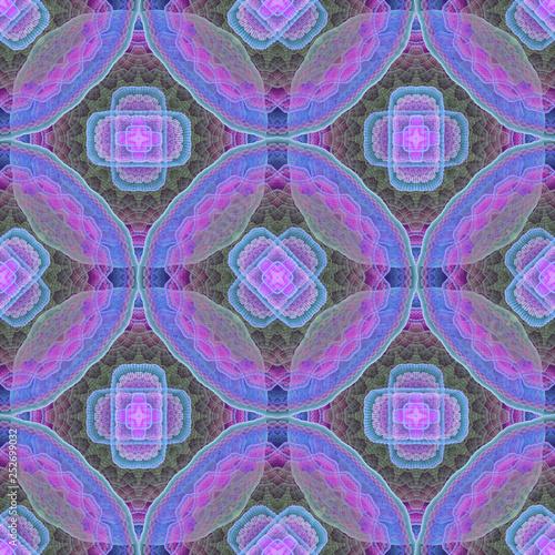 Fotografie, Obraz  Fractal_mandala_pattern_03