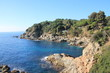 Lloret de Mar, a Mediterranean coastal town in Catalonia, Spain. One of the most popular holiday resorts on the Costa Brava.