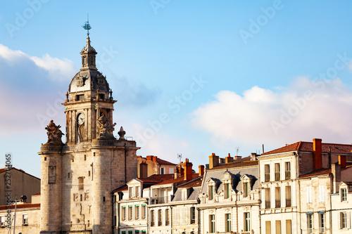 Photo Close view of Clocktower, La Rochelle, France