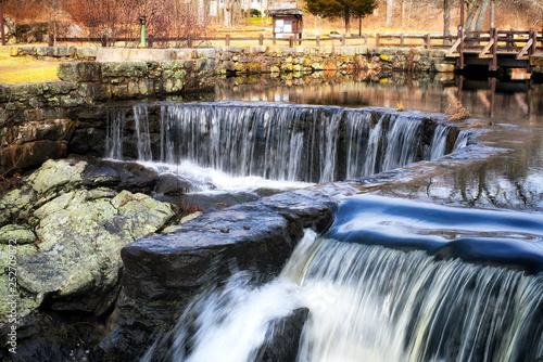 Fotografie, Obraz  Southford Fall State Park in Oxford Connecticut