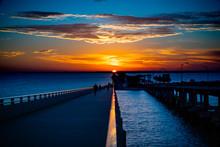 Courtney Campbell Bridge Sunset