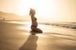 Kobieta w ciąży - Plaża - wypoczynek