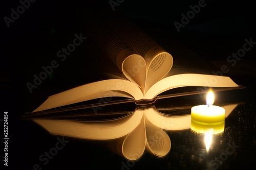 Fotografie, Obraz  Amor a la escritura