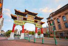 Liverpool Chinatownin Liverpoo...
