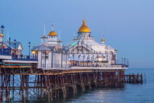 Beautiful Eastbourne Pier In The Evening