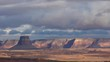 4K Time Lapse of Winter Clouds over the Desert