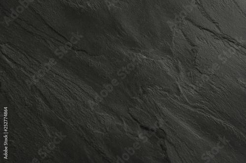 Tuinposter Stenen Black stone texture