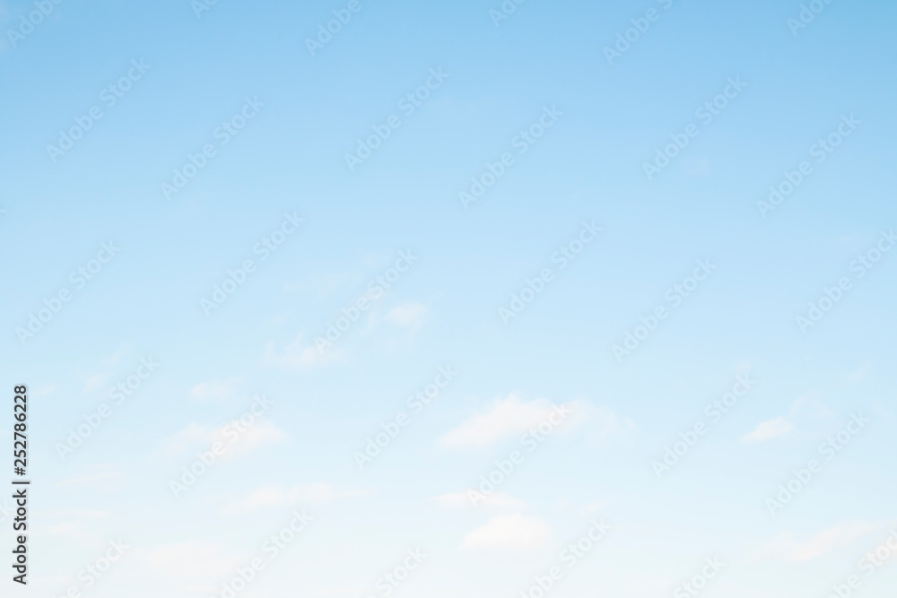 Fototapety, obrazy: Blue sky as a background on a clear day.