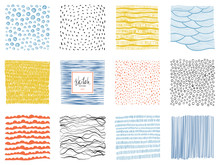Set Of Abstract Backgrounds An...
