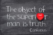 Superior Man Confucius