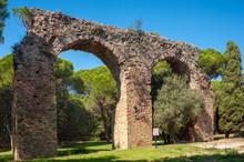 Roman Aqueduct In Frejus