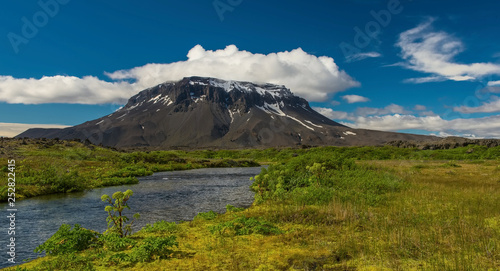 Herdubreid is a tuya in north-east Iceland It is situated in