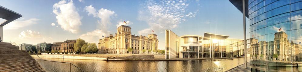 FototapetaBerlin government center panorama