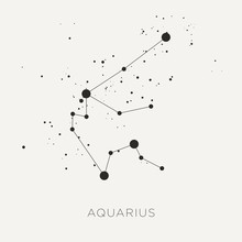 Star Constellation Zodiac Aqua...