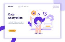 Vector Data Encryption Web Pag...