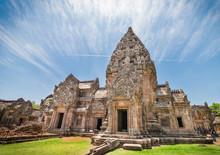 Phanom Rung Historical Park Or Prasat Phanom Rung Temple Located In Buriram Province,Thailand.