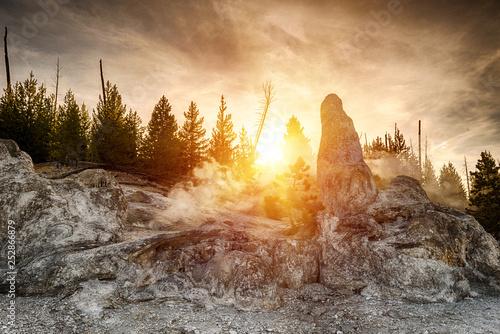 Monument Geyser Basin Spire