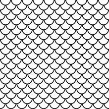 Fish Scales Seamless Pattern, ...