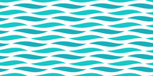 Water Sea Waves Seamless Patte...