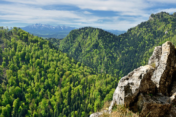 Fototapeta Góry Widok na Tatry, Polska