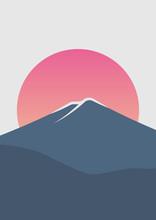 Beautiful Mount Fuji Sunrise M...