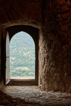 Passage Of An Old Castle, Open...