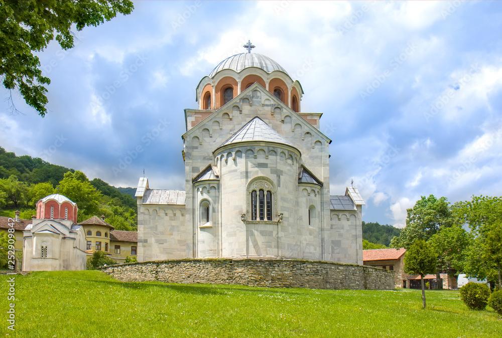 Fototapety, obrazy: Serbian Orthodox monastery Studenica