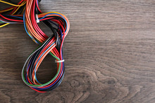 Multi-colored Wires For Laminate, Warm Floor