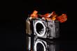 Elektronik einer modernen Kamera