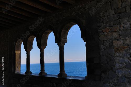 Fotografie, Obraz  Portovenere (Porto Venere) Italy is the gateway to Cinque Terre and offers amazi