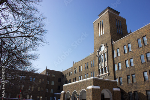 Photo 北海道大学 北大 農学部 冬