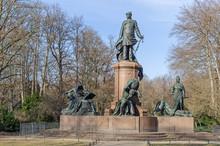 Bismarck Memorial In The Tierg...