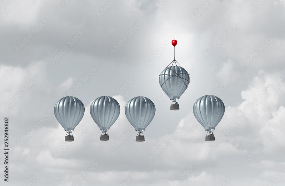 Fototapety, obrazy: Business Competitive Advantage