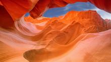 Scenic Antelope Canyon Near Page, Arizona, USA