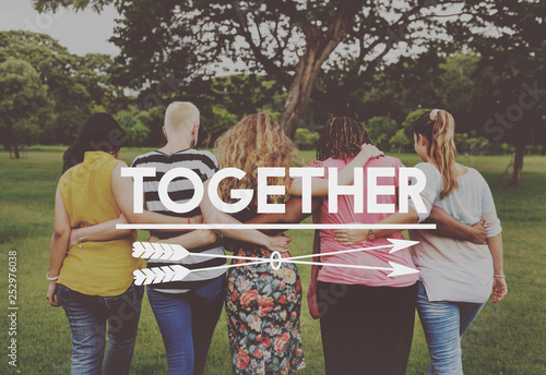 Fotografie, Obraz  Women support group